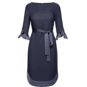 Banana Republic Blue Dress Size 6 Tall